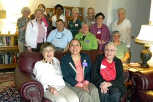 Bonnie and Marice with Leisure World Residents