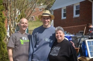Bonnie with constituents at Habitat for Humanity Rebuilding Day